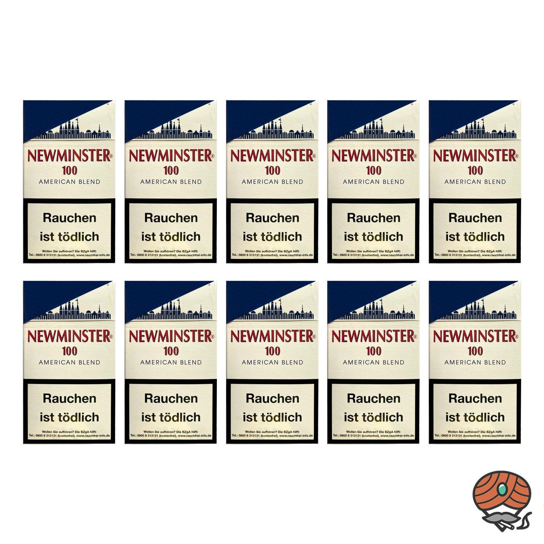 10 x Newminster 100 American Blend Filterzigarillos, 10 x 17 Stück
