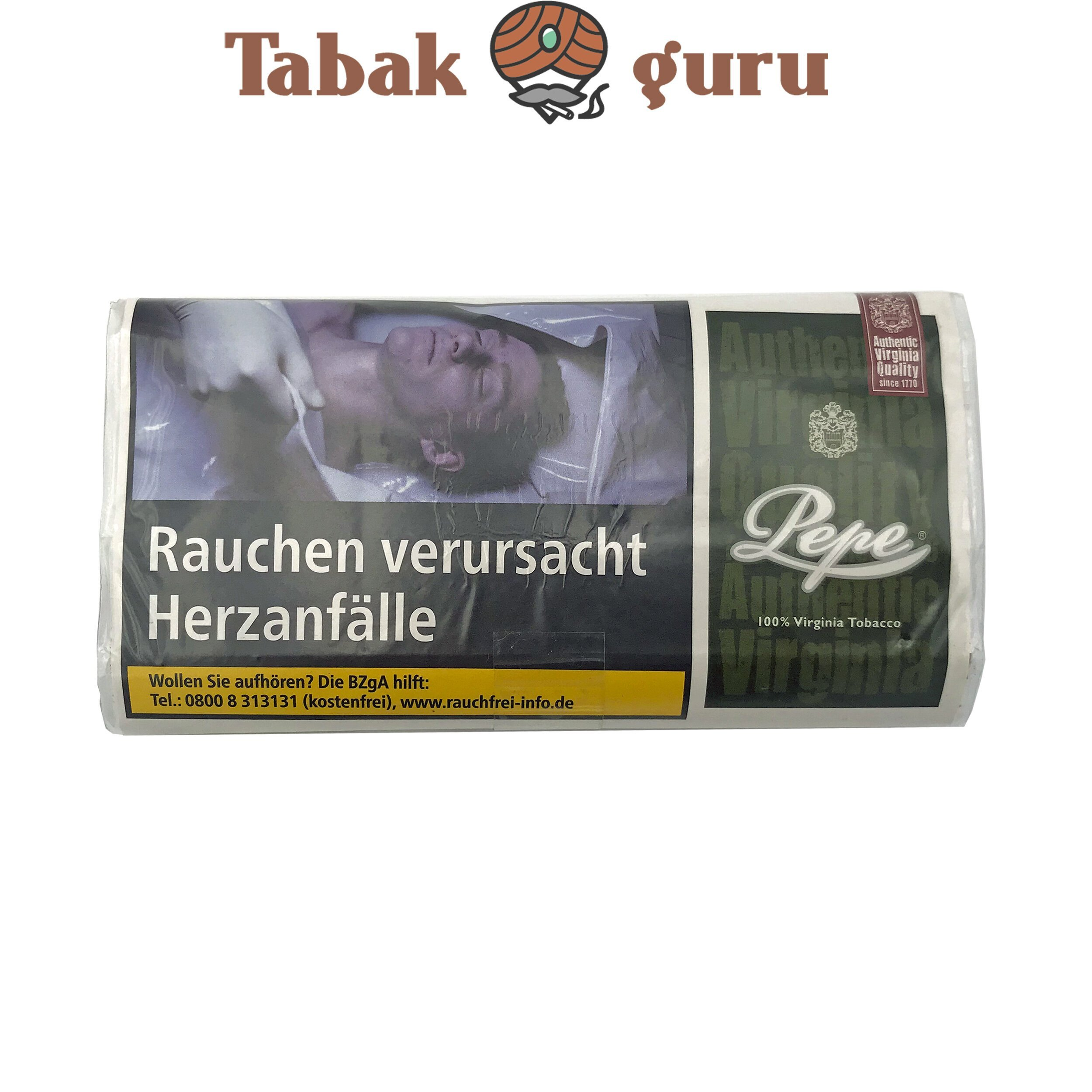 Pepe Rich Green 30g Drehtabak Zigarettentabak