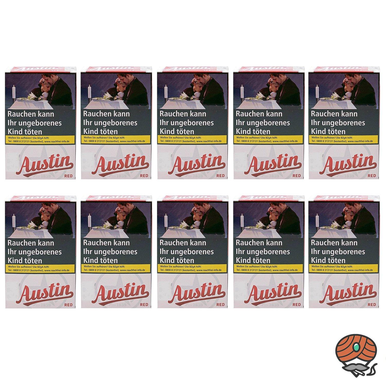 1 Stange Austin Red Original Zigaretten OP 10x20 Stück