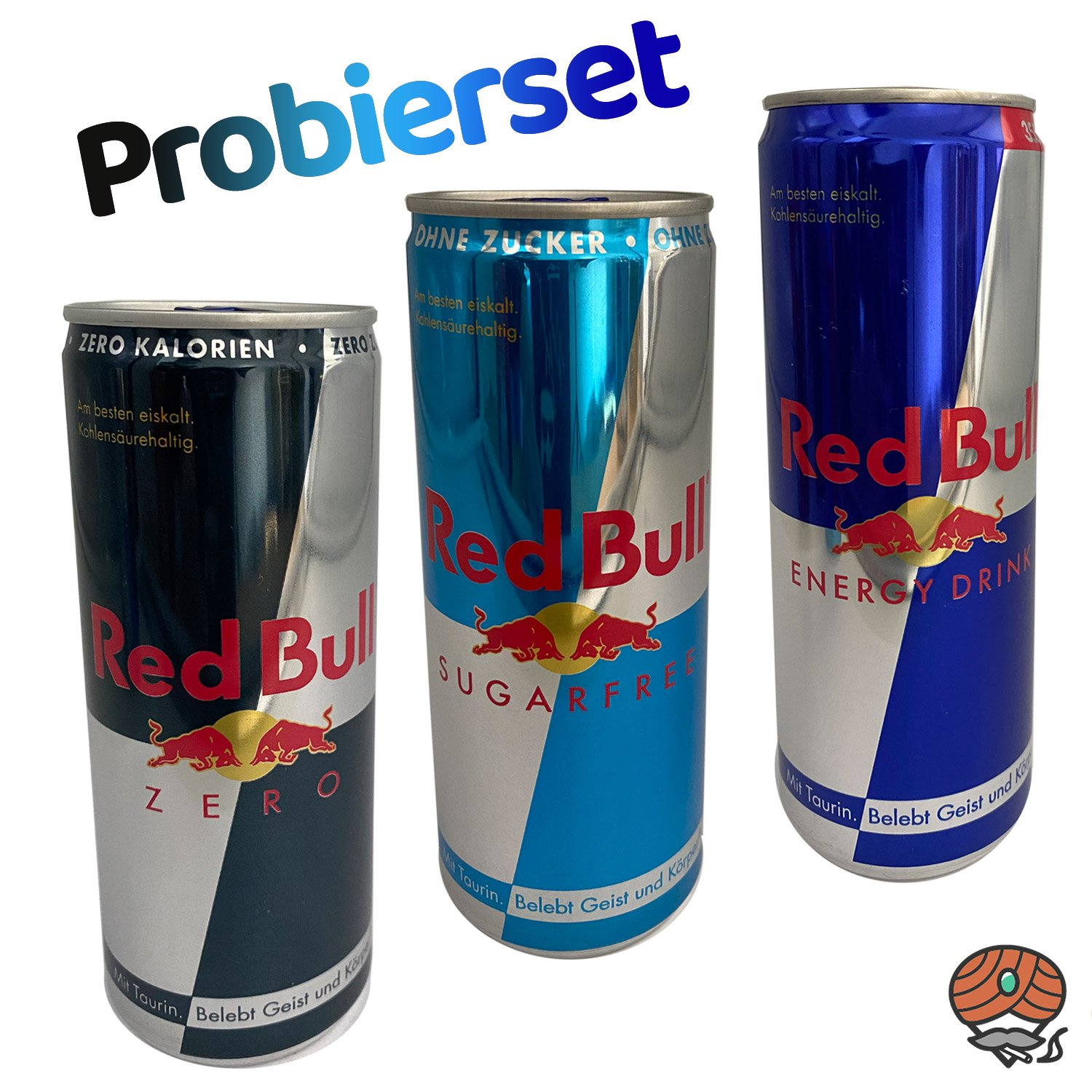 3 x Red Bull Energy Drink 250 ml Dose PROBIERSET