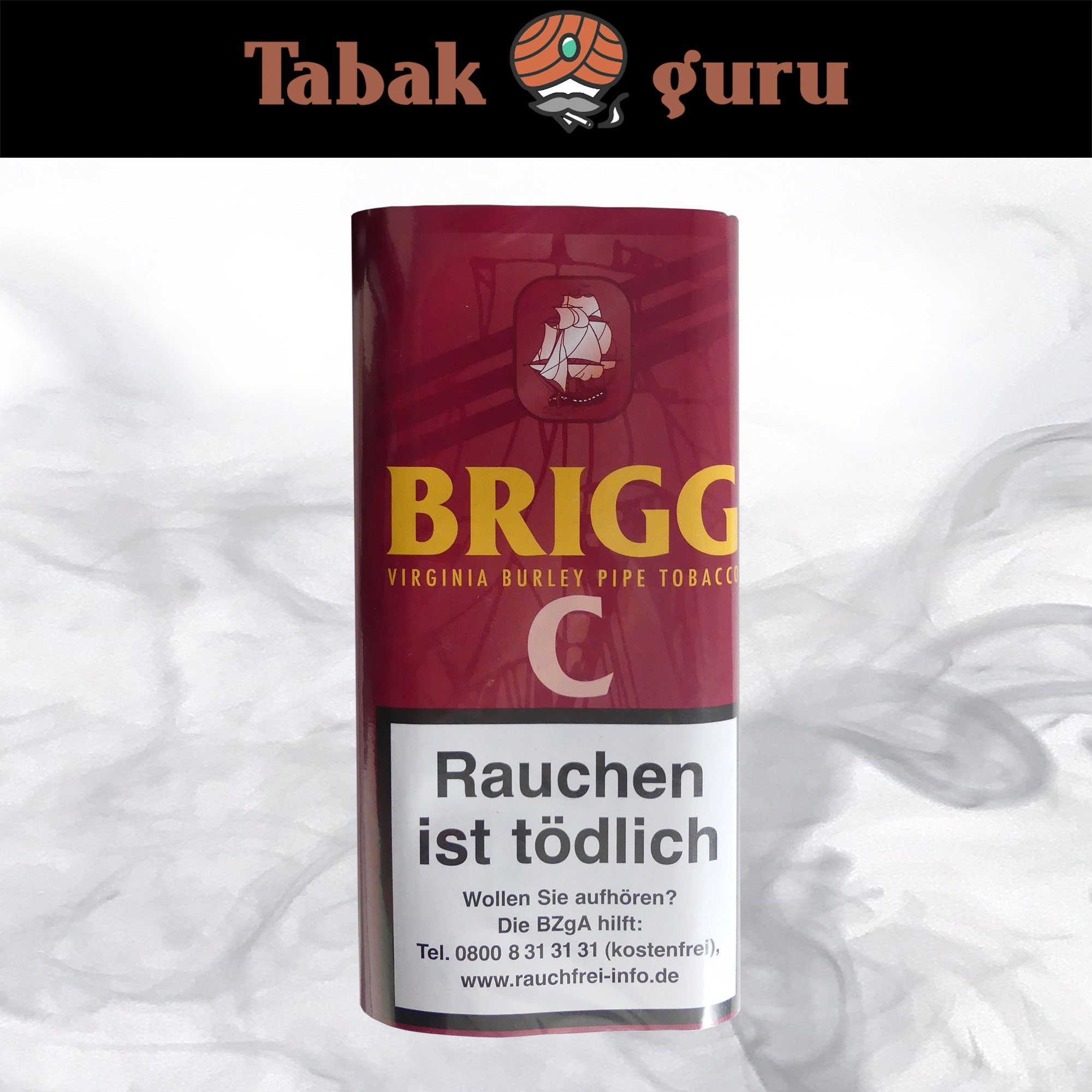 Brigg C (Cherry) Pouch 40g Pfeifentabak