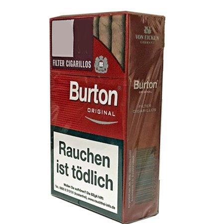 1 Schachtel Burton Filter Cigarillos / Zigarillos 25 Stück pro Packung
