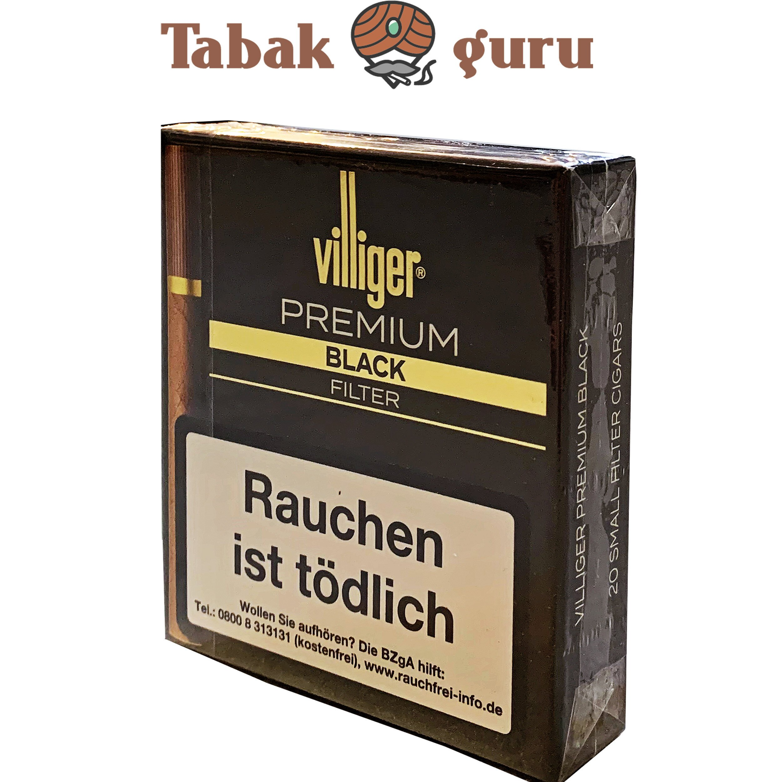 Villiger Premium Black Filter Filterzigarillos à 20 Stück