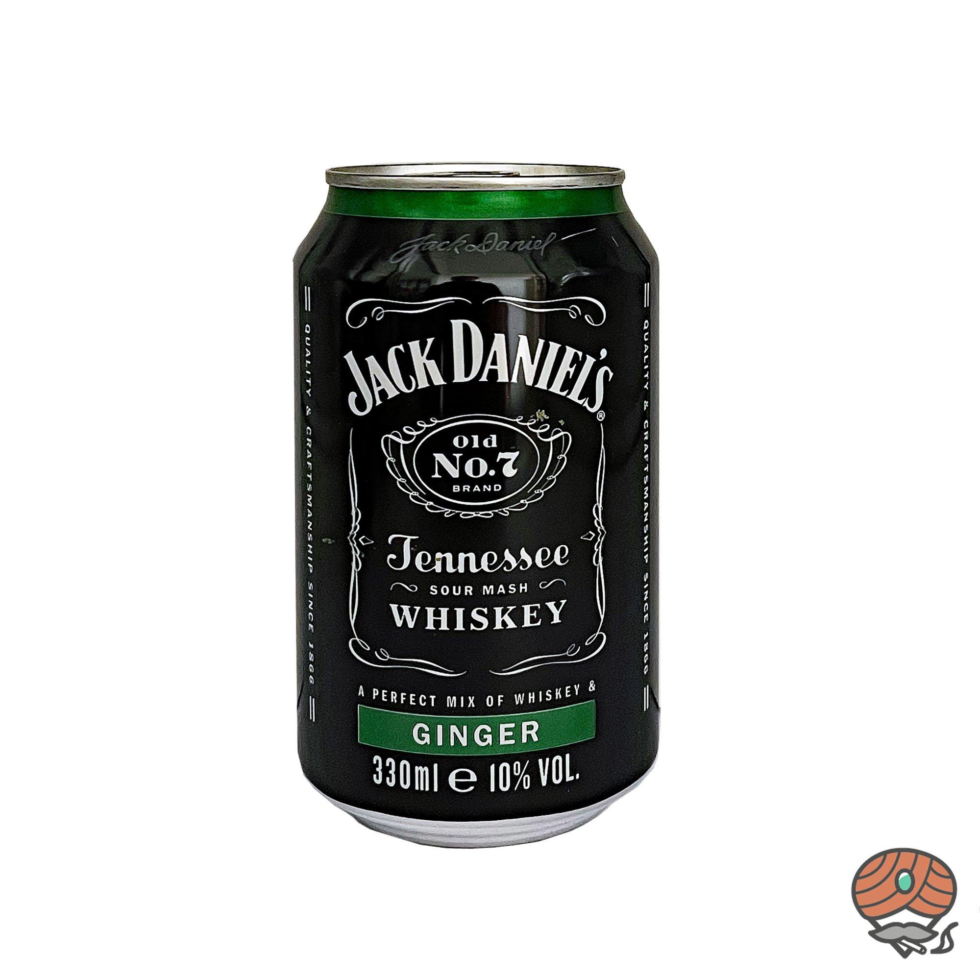 Jack Daniel´s Old No. 7 - Ginger Mixgetränk 0,33 l inkl.0,25 Euro Pfand (alc. 10% Vol)