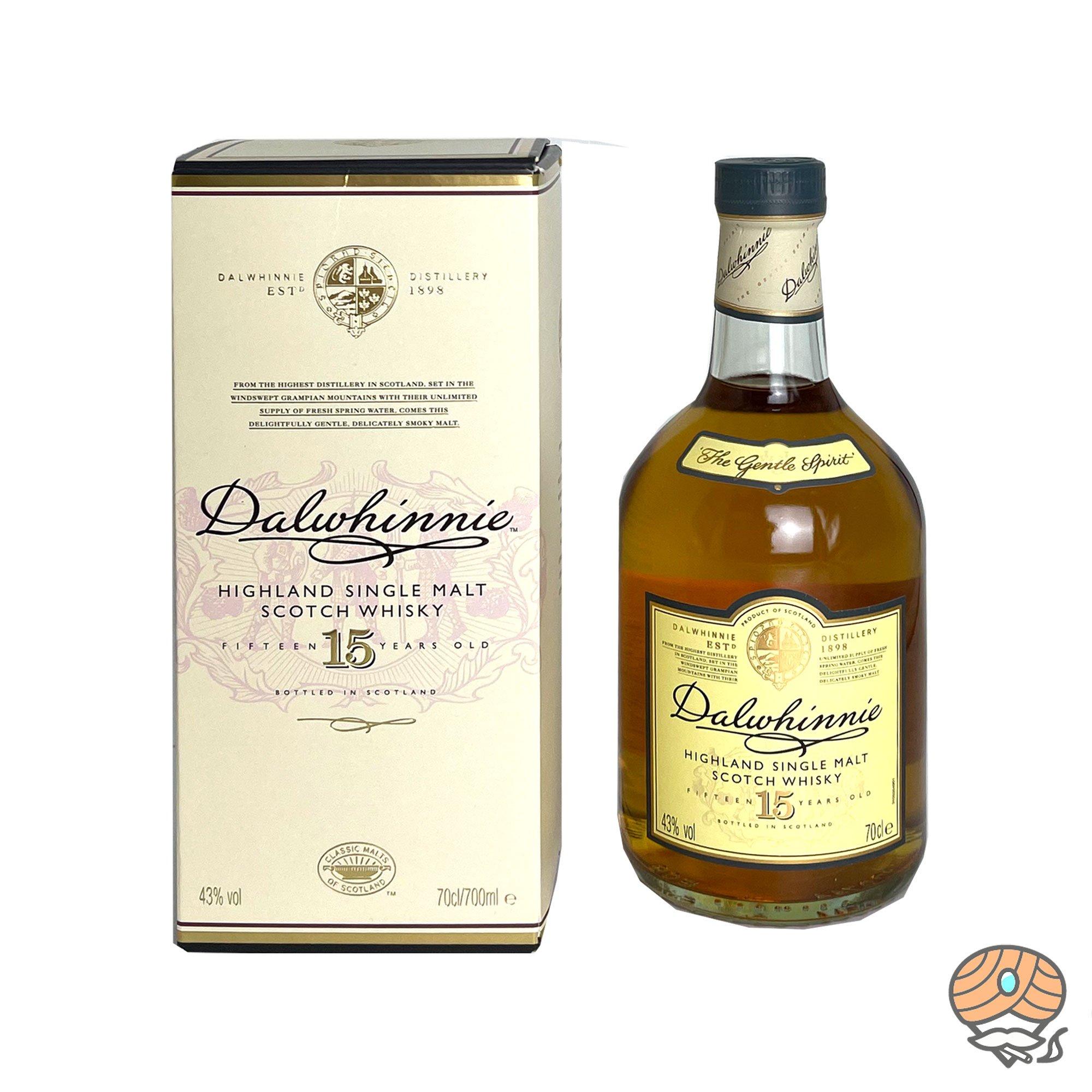 Dalwhinnie Highland Single Malt Scotch Whisky 15 Jahre