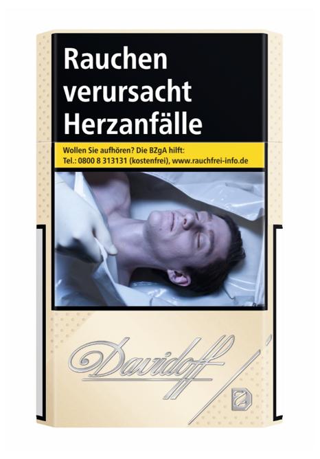 Davidoff Gold Zigaretten 20 Stück