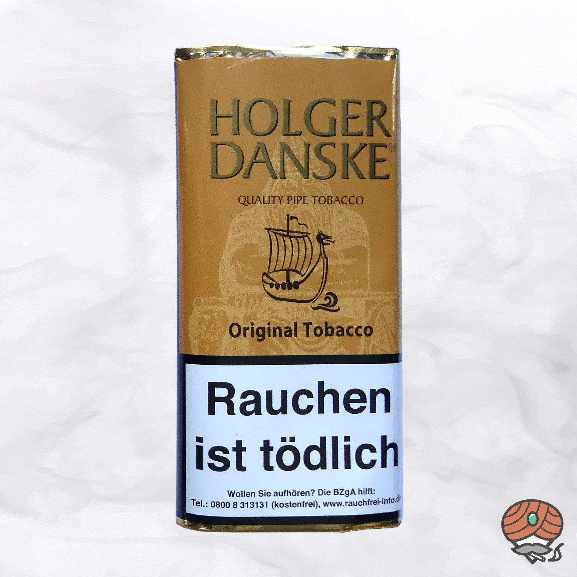 Holger Danske Original Tobacco Pfeifentabak 40 g Pouch