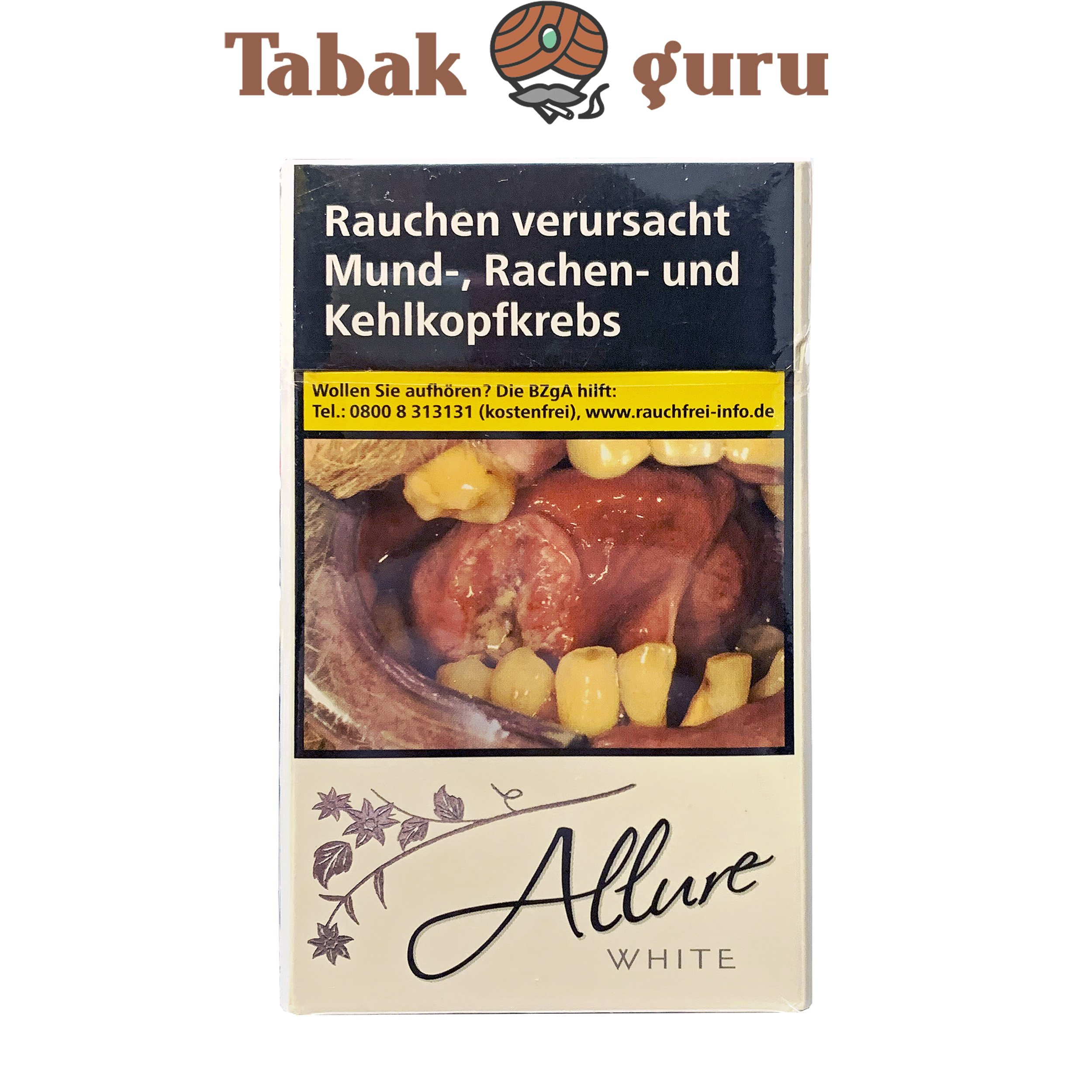 Allure White Super Slim Zigaretten
