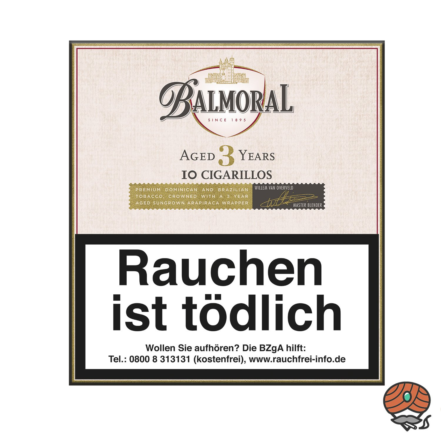 Balmoral Aged 3 Years Cigarillo/Zigarillo, 10 Stück