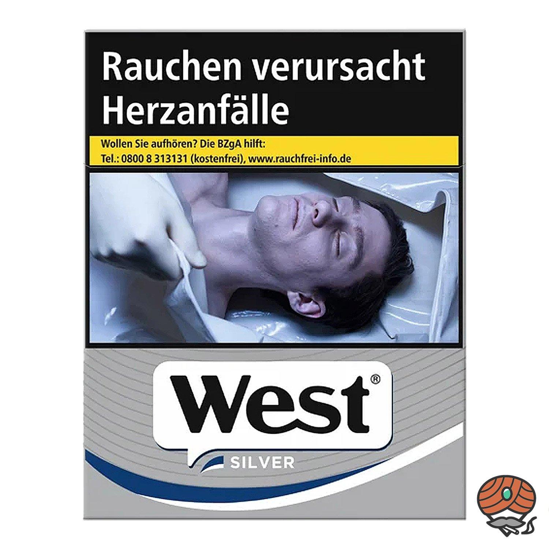 West Silver / Silber Zigaretten 20 Stück