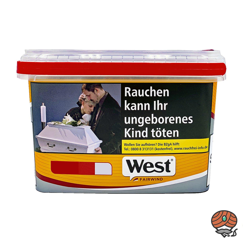 West Yellow Tabak Jumbo Box 185 g Volumentabak