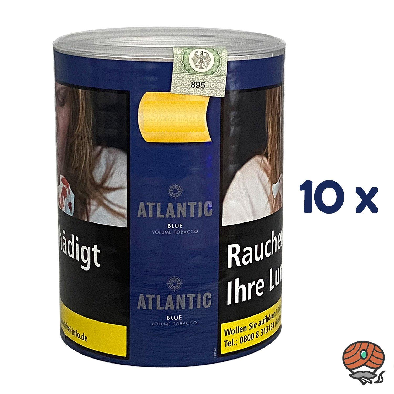10x ATLANTIC Blue Tabak / Volumentabak Dose à 70 g