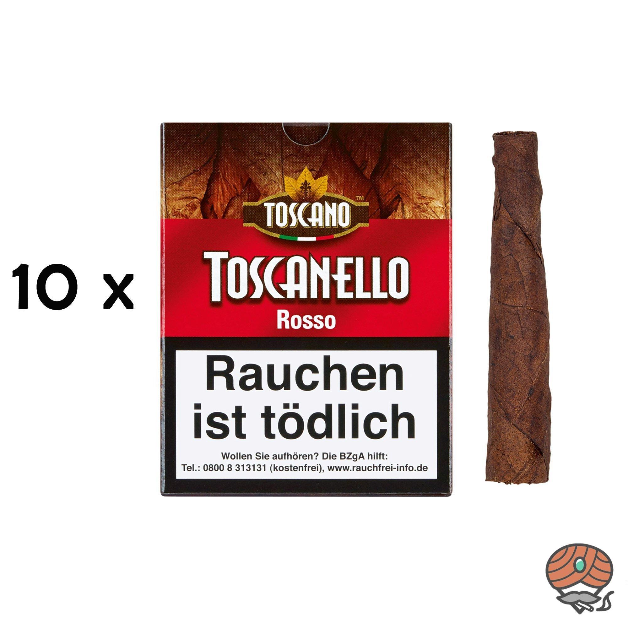 10 x Toscanello Rosso Zigarren (Kaffee)