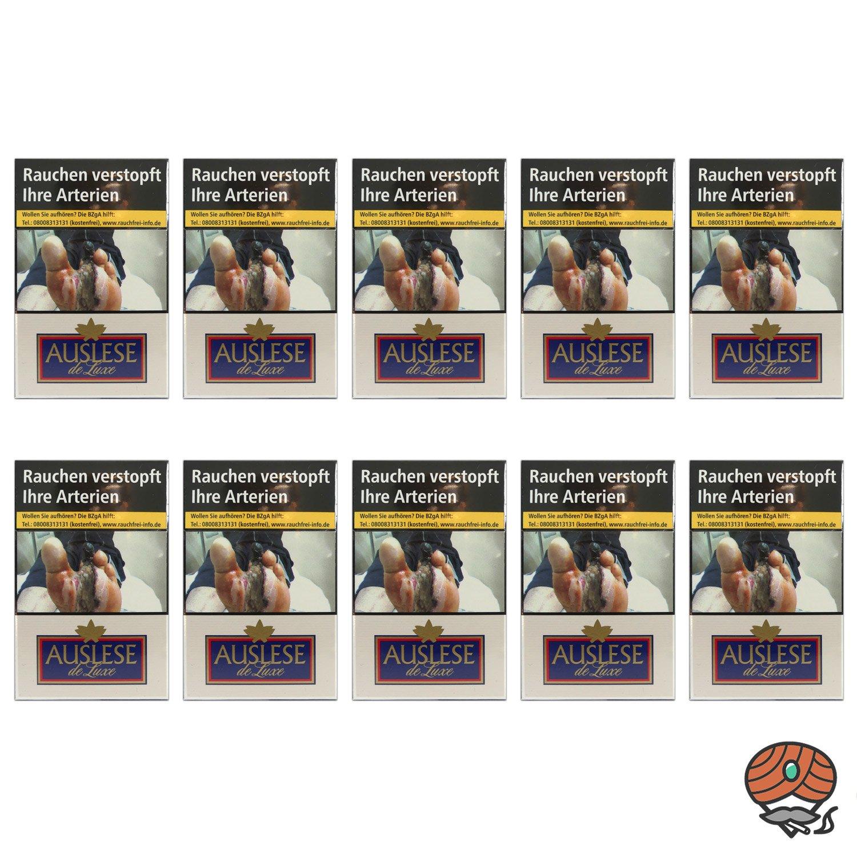 1 Stange AUSLESE de Luxe Filterzigaretten - 10 x 20 Zigaretten