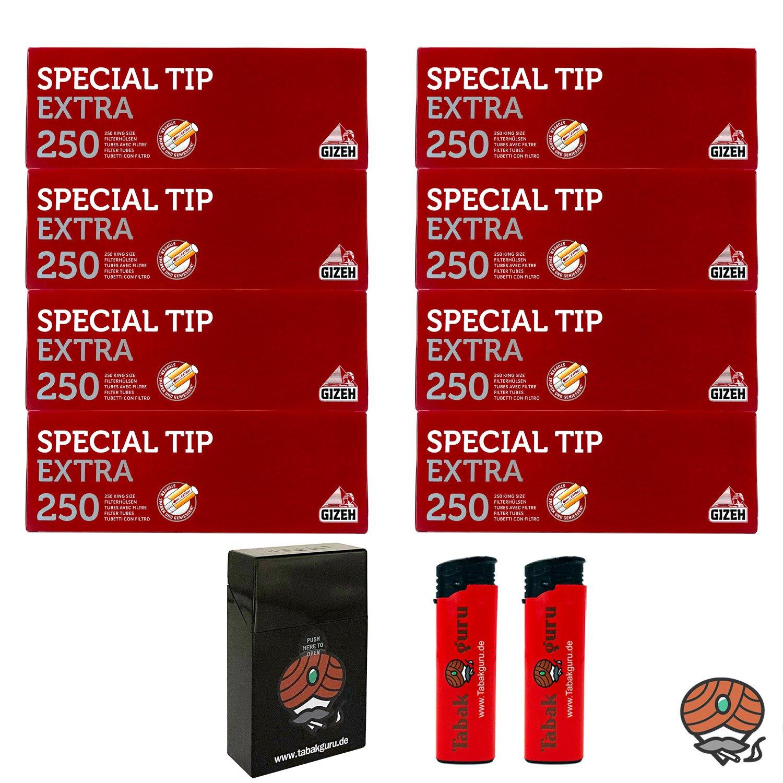 8 Pack Gizeh Special Tip Extra Filterhülsen + Zubehörartikel