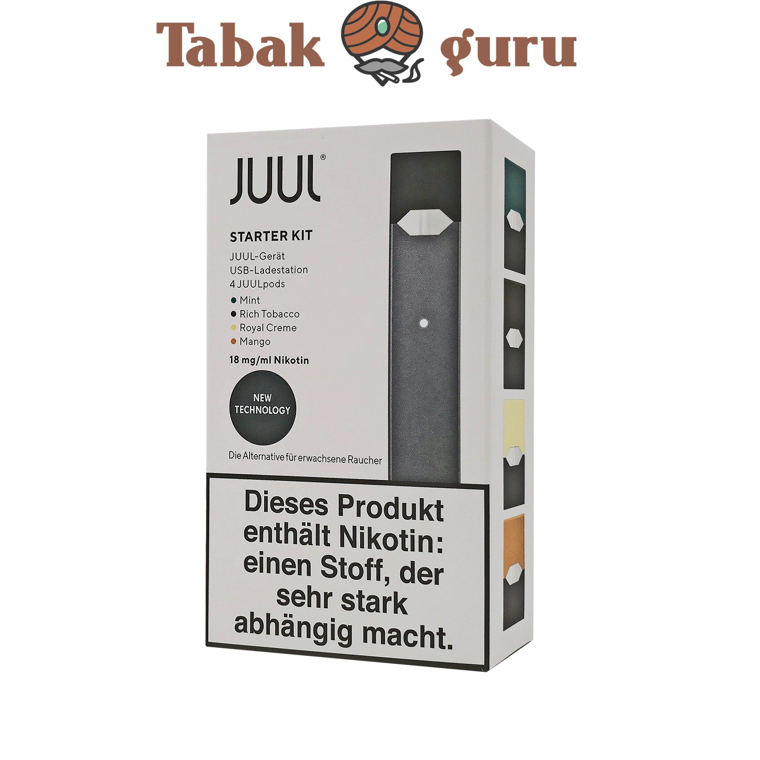 JUUL Starter-Kit Inkl. 4 JUUL pods