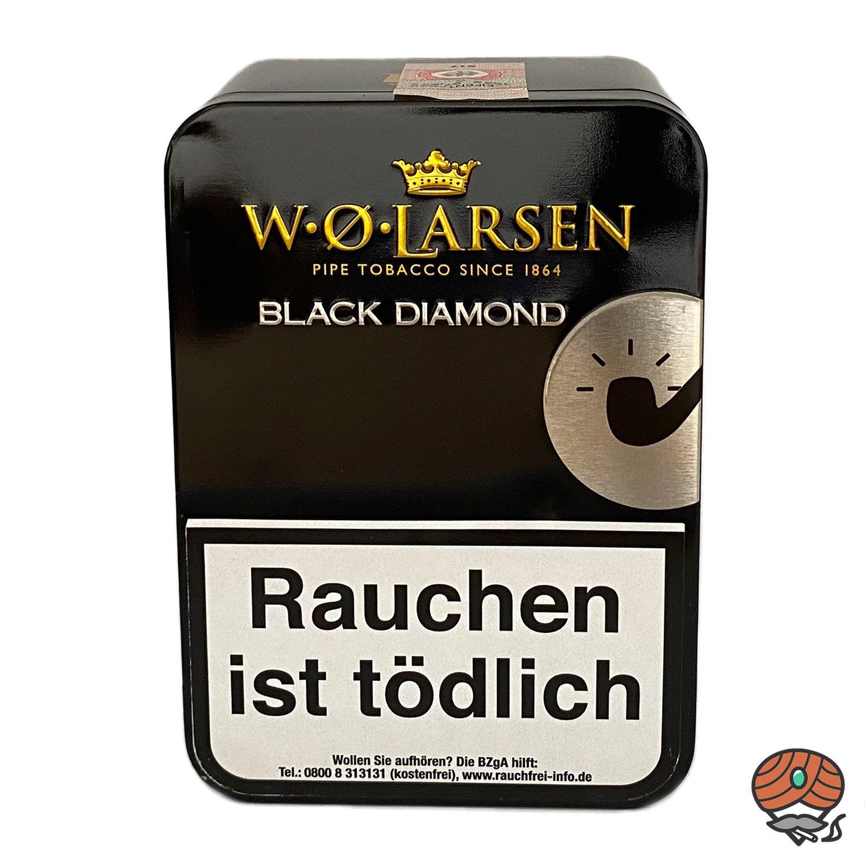 W.Ø. LARSEN Black Diamond Pfeifentabak 100g Dose