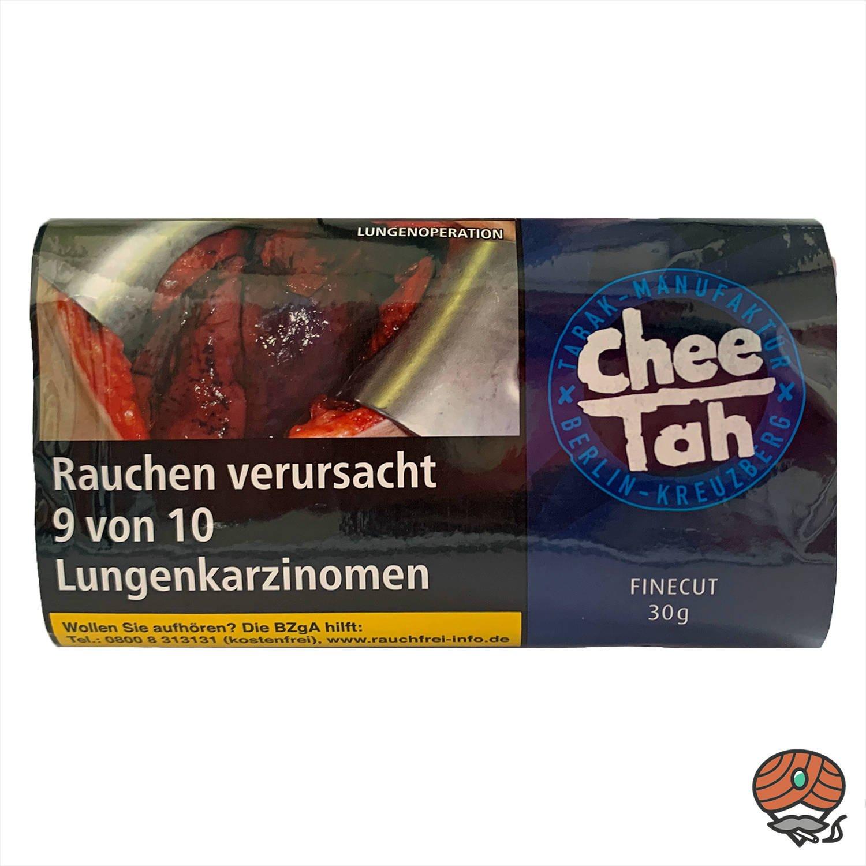 Chee Tah Schwarz Drehtabak Pouch Zware Shag