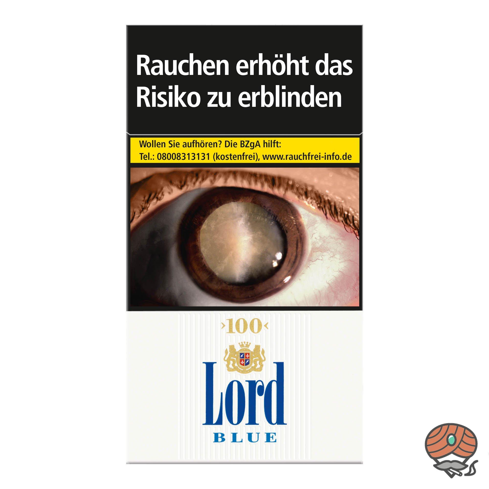 Lord Blue 100er Zigaretten 20 Stück