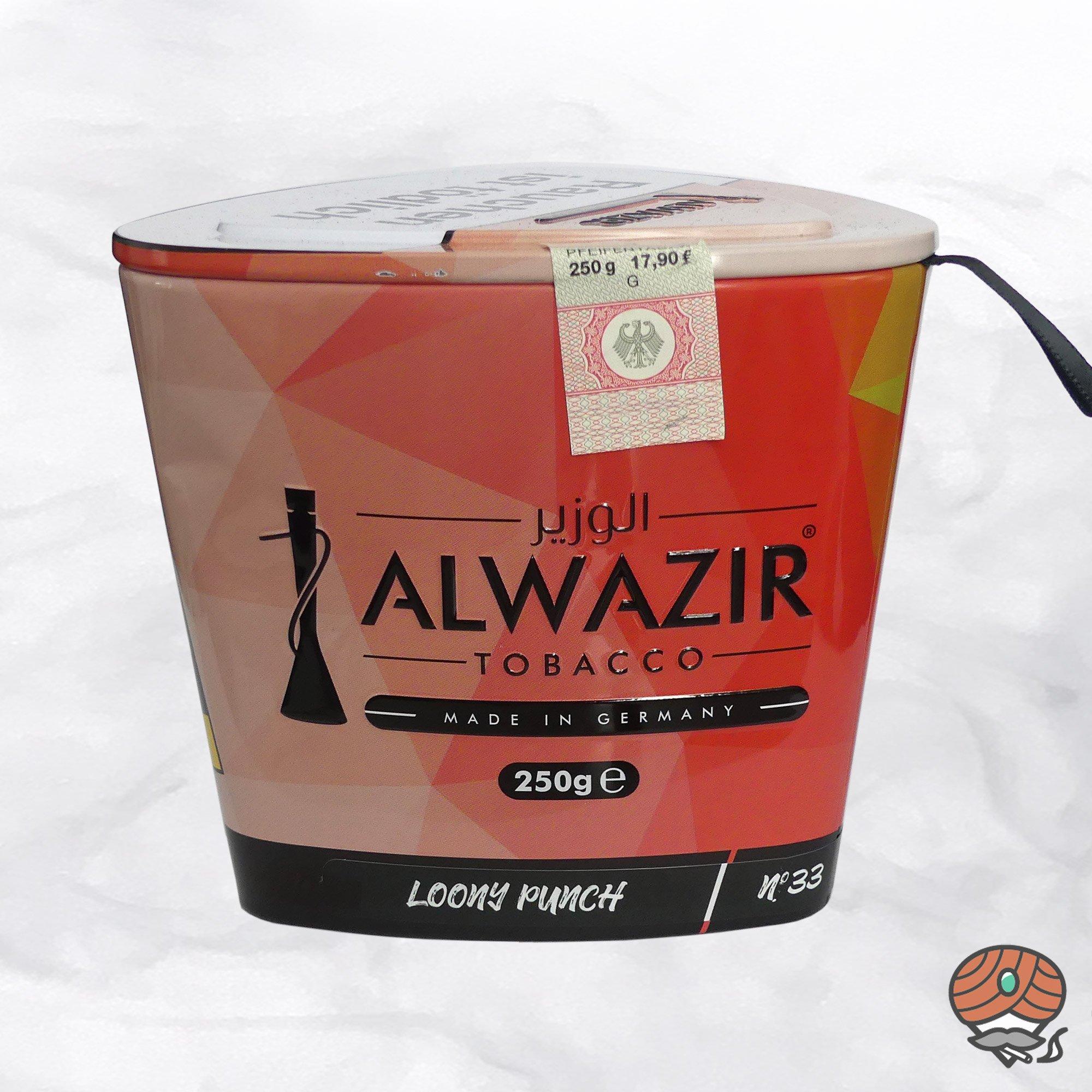 Alwazir Shisha Tabak - No. 33 - LOONY PUNCH 250g