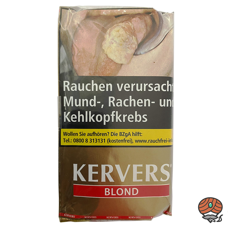 KERVERS Blond Drehtabak - Zigarettentabak - Tabak 40 g Pouch
