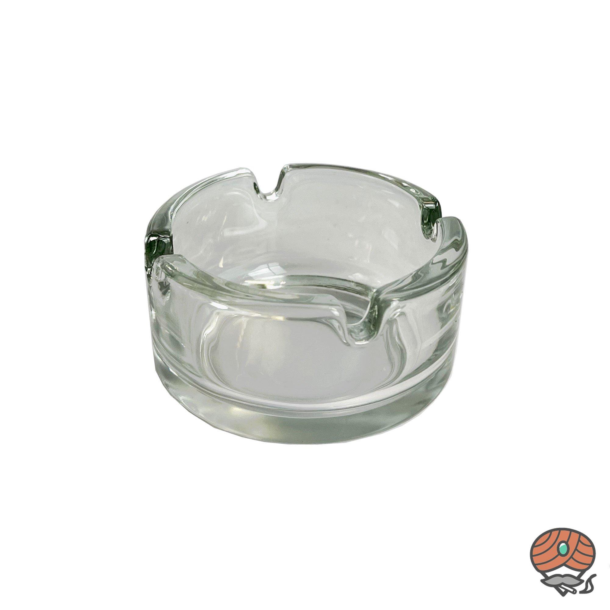 Glasaschenbecher Durchmesser 7,2 cm
