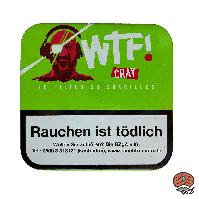 20 WTF! Filter Shisharillos Geschmacksrichtung CRAY (Apfel)