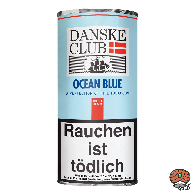 Danske Club Ocean Blue Pfeifentabak 50g Pouch / Beutel