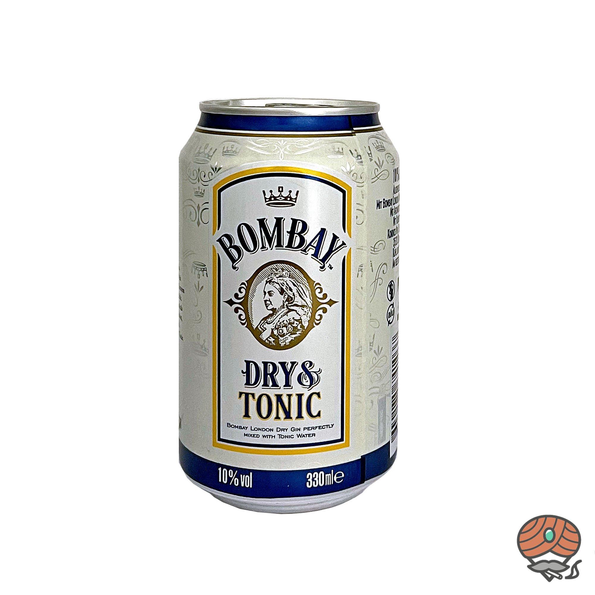 Bombay Dry Gin + Tonic alc. 10% Vol, inkl 0,25 Euro Pfand