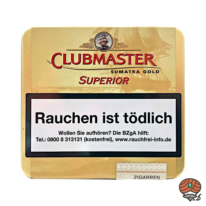Clubmaster Superior Sumatra Gold No. 161 Zigarillos a 20 Stück