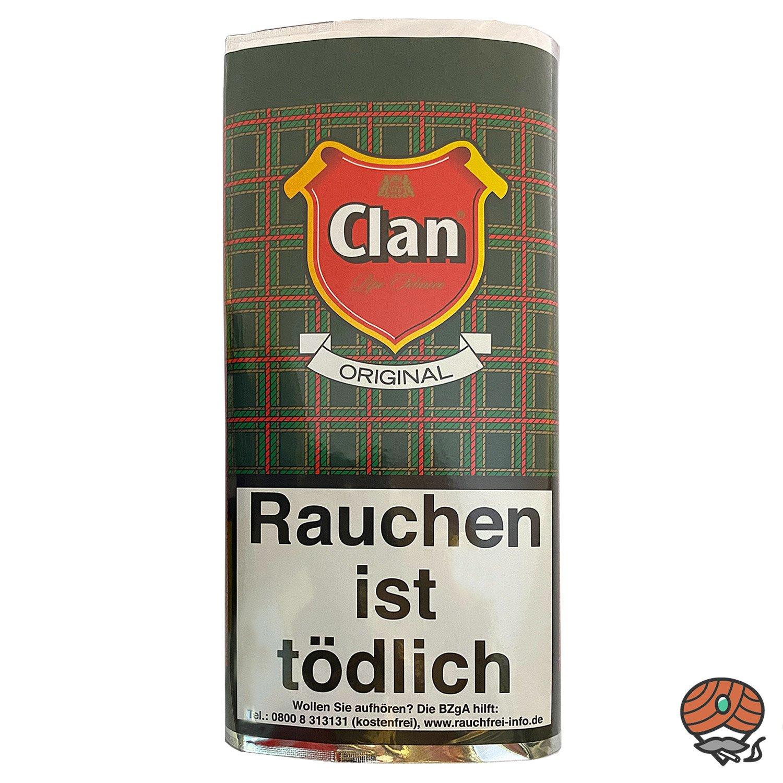 Clan Original Pfeifentabak 50 g Pouch