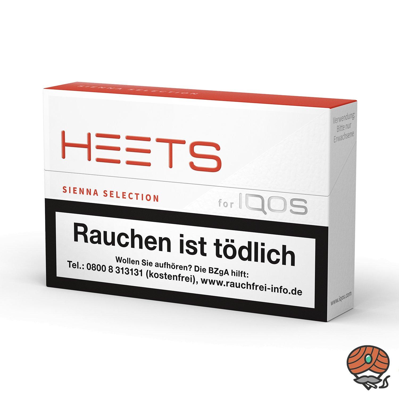 HEETS Sienna Selection Tabak Sticks von Marlboro für IQOS 20 Stück