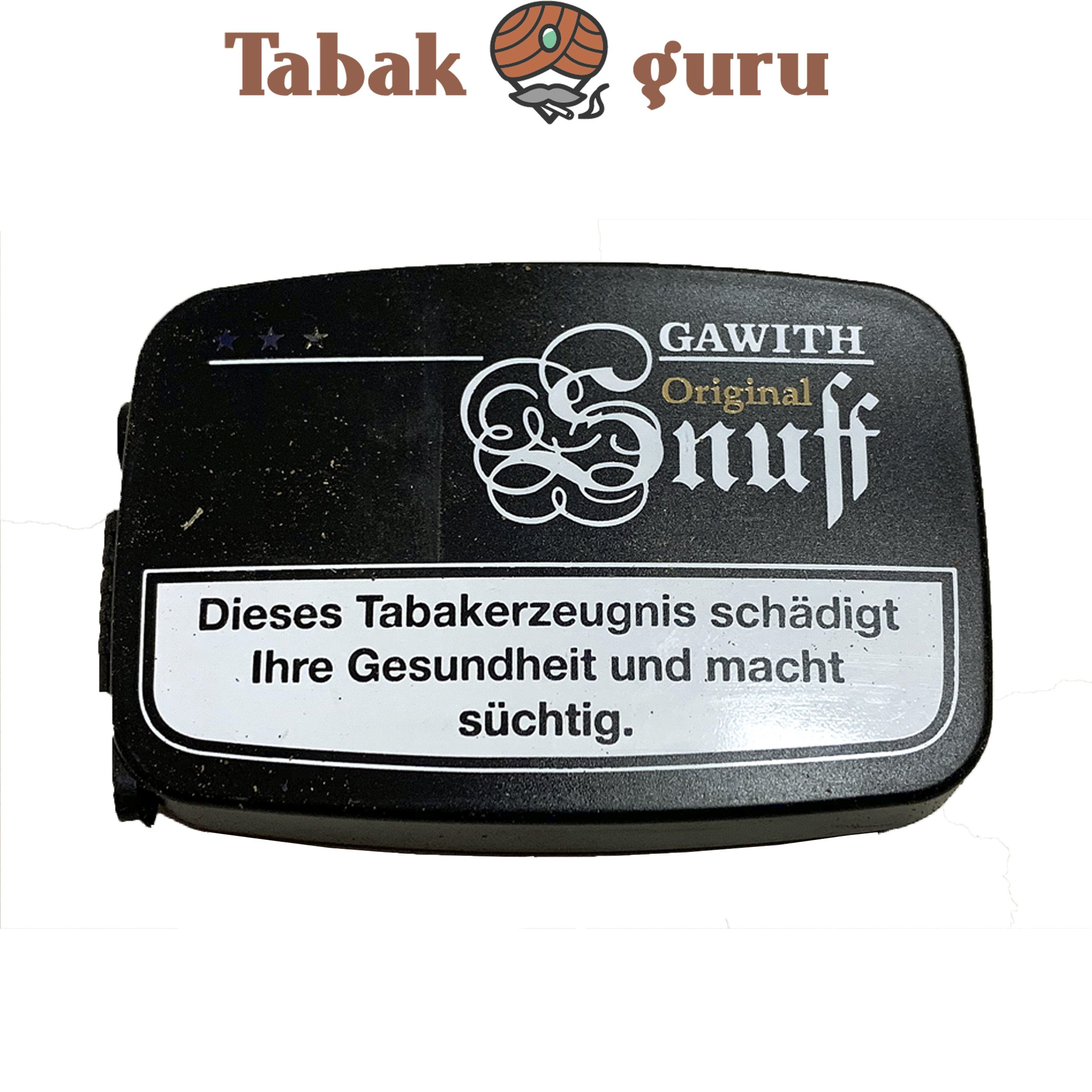 Gawith Original Snuff Schnupftabak Dose 10 g