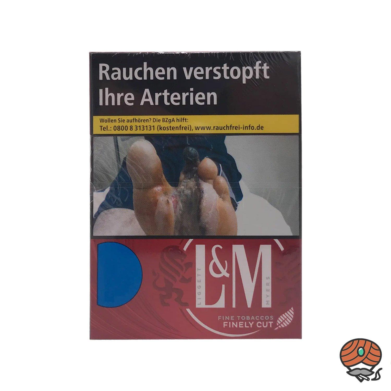 L&M Red Label OP 4XL-Box Zigaretten Inhalt 40 Stück