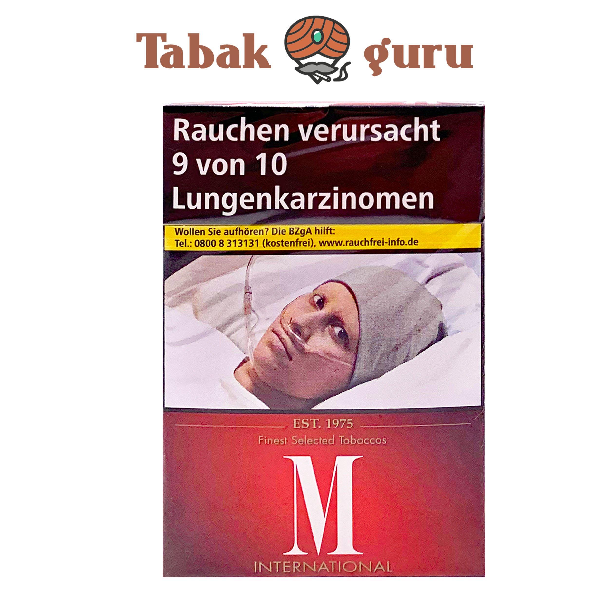 M Classic International Zigaretten, 20 Stück