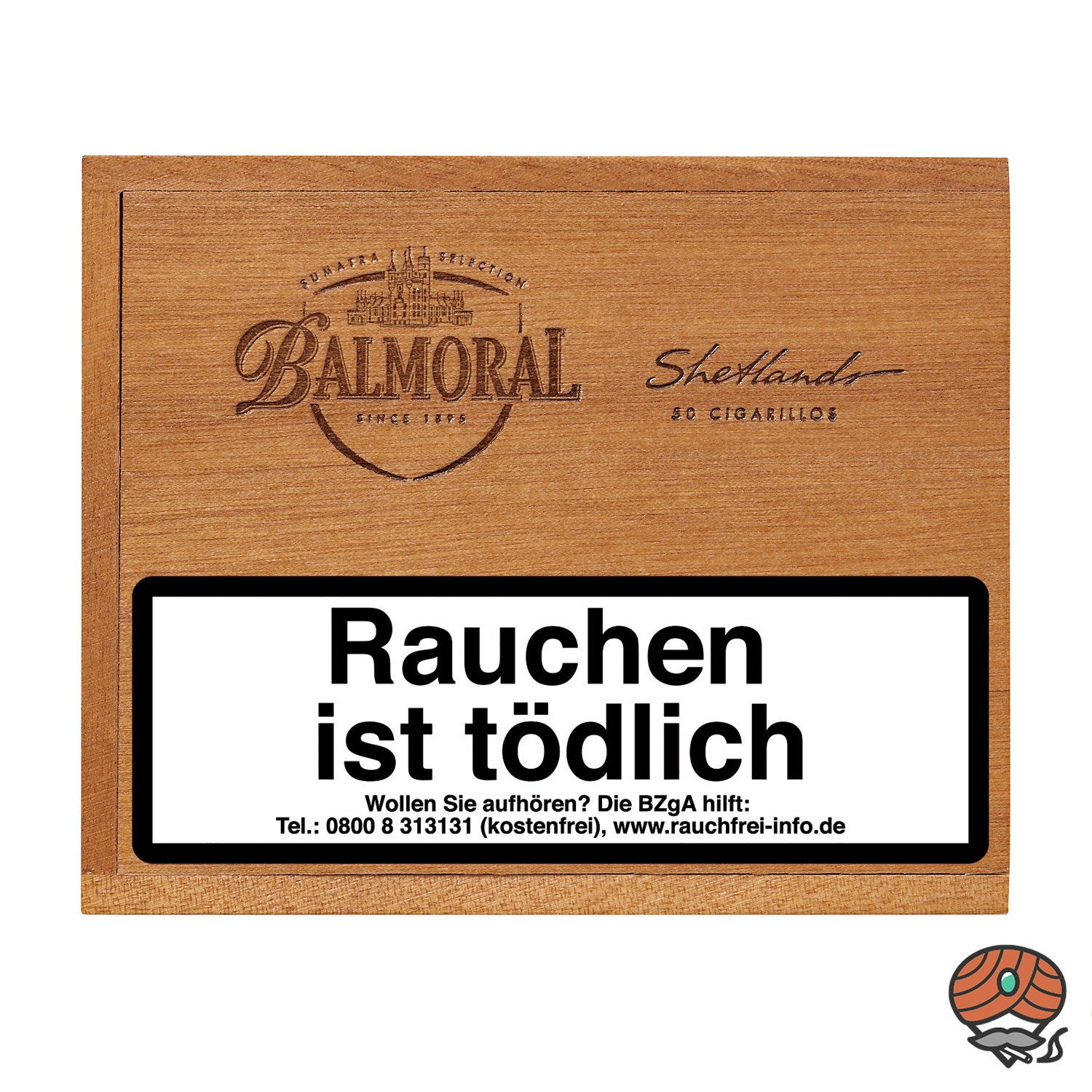 Balmoral Sumatra Selection Shetlands Cigarillo/Zigarillo, 50 Stück