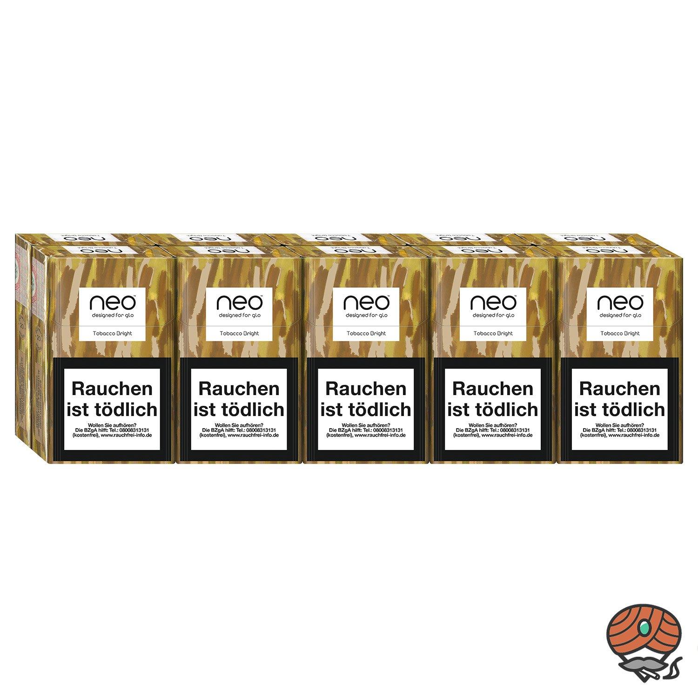neo Tobacco Bright für GLO - 10 x Tabak Sticks à 20 Stück