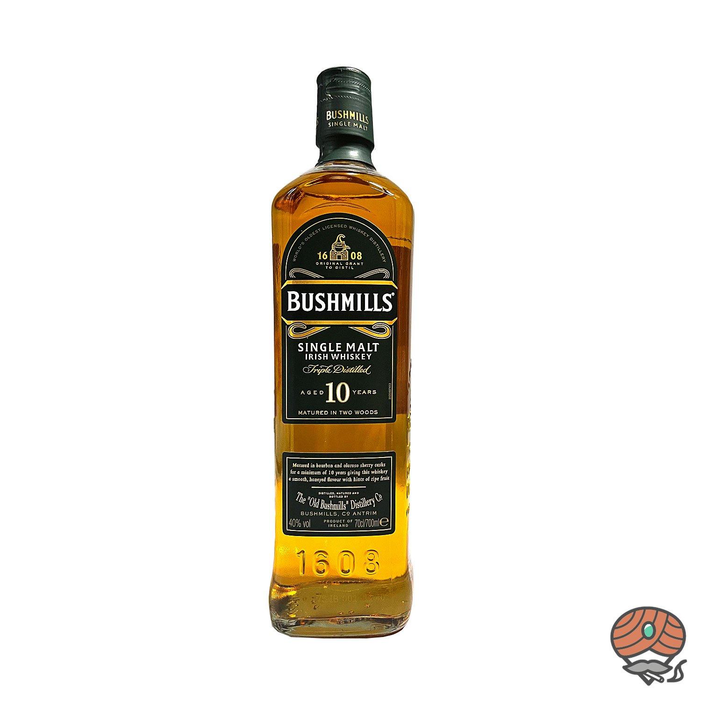 Bushmills Single Malt Irish Whiskey 10 Jahre 0,7l, alc. 40 Vol.-%