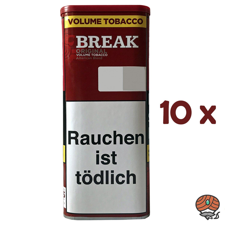 10x Break Original Volumentabak / Tabak XXL Dose à 115g