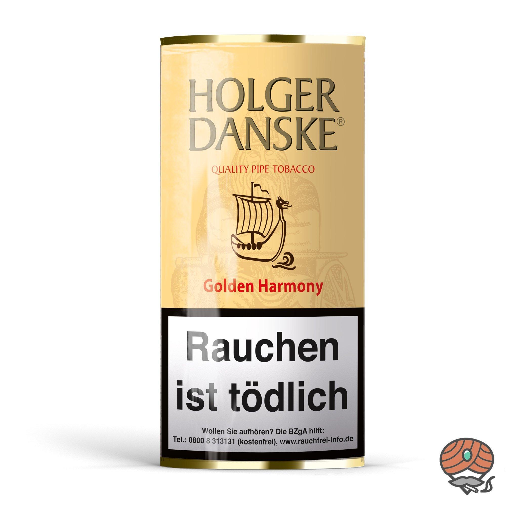 Holger Danske Golden Harmony Pfeifentabak 40g Beutel