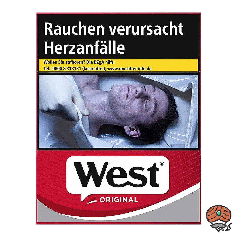 West Original Red Zigaretten 20 Stück
