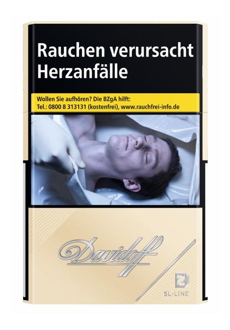 Davidoff Gold Slim Line Zigaretten 20 Stück