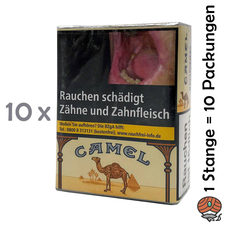 1 Stange Camel Zigaretten OHNE Filter 10x20 Stück
