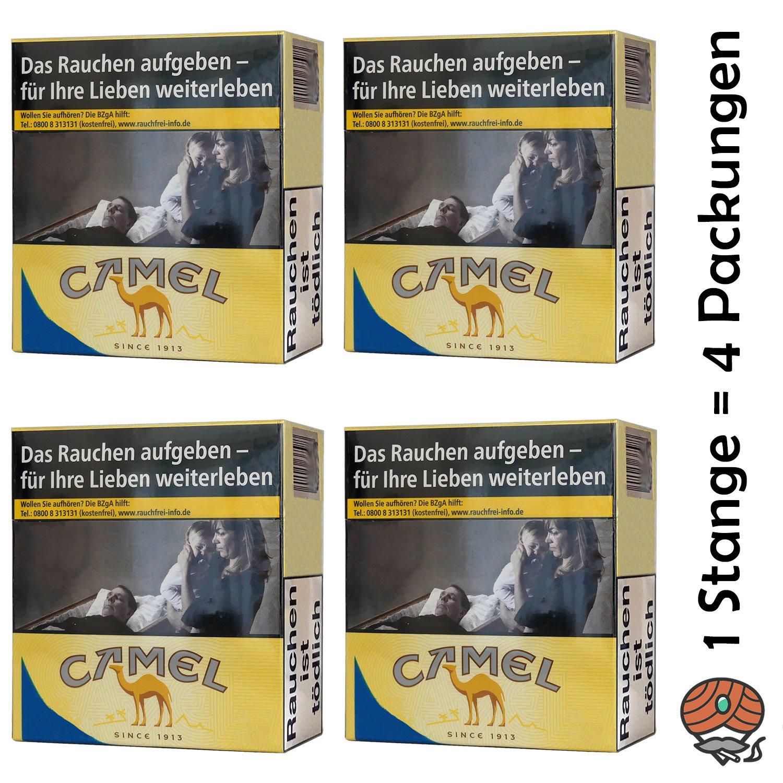 1 Stange Camel Yellow Zigaretten 6XL Packung 4x53 Stück