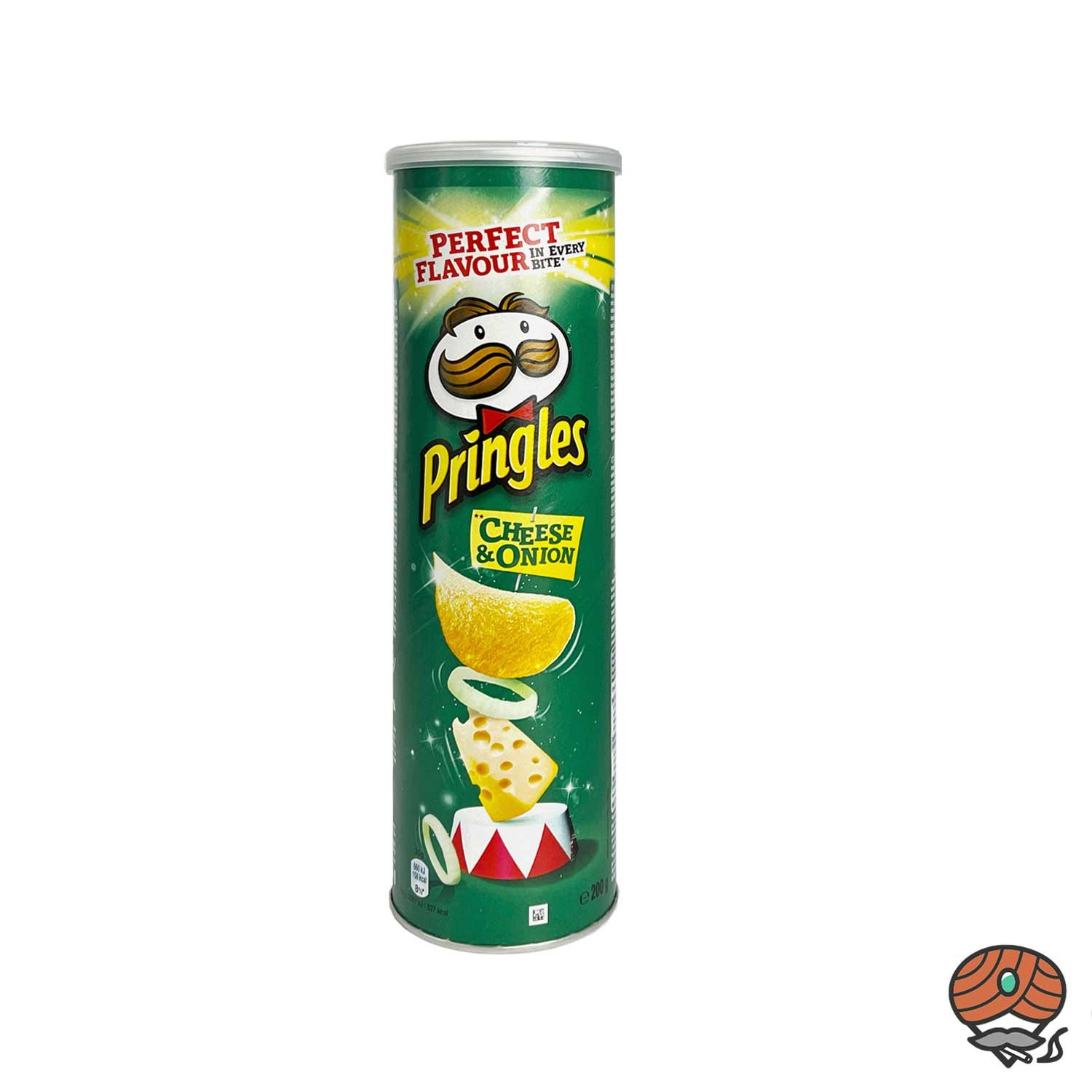 Pringles Cheese & Onion Stapelchips 200g Dose