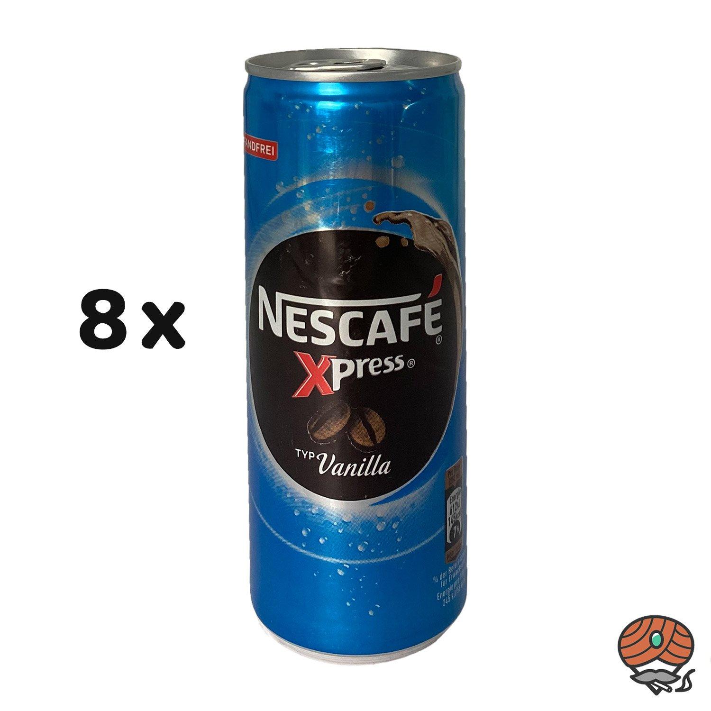 8 x Nescafé Xpress Typ Vanilla, 250 ml Dose