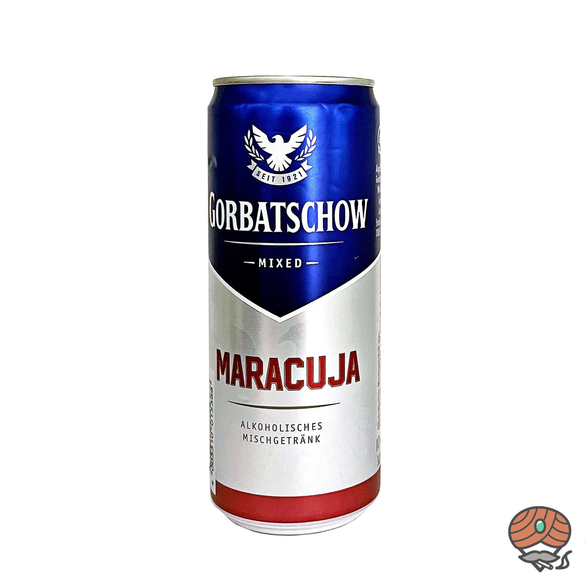 Gorbatschow Maracuja Mixed, alc. 10% Vol, inkl. 0,25 Euro Pfand