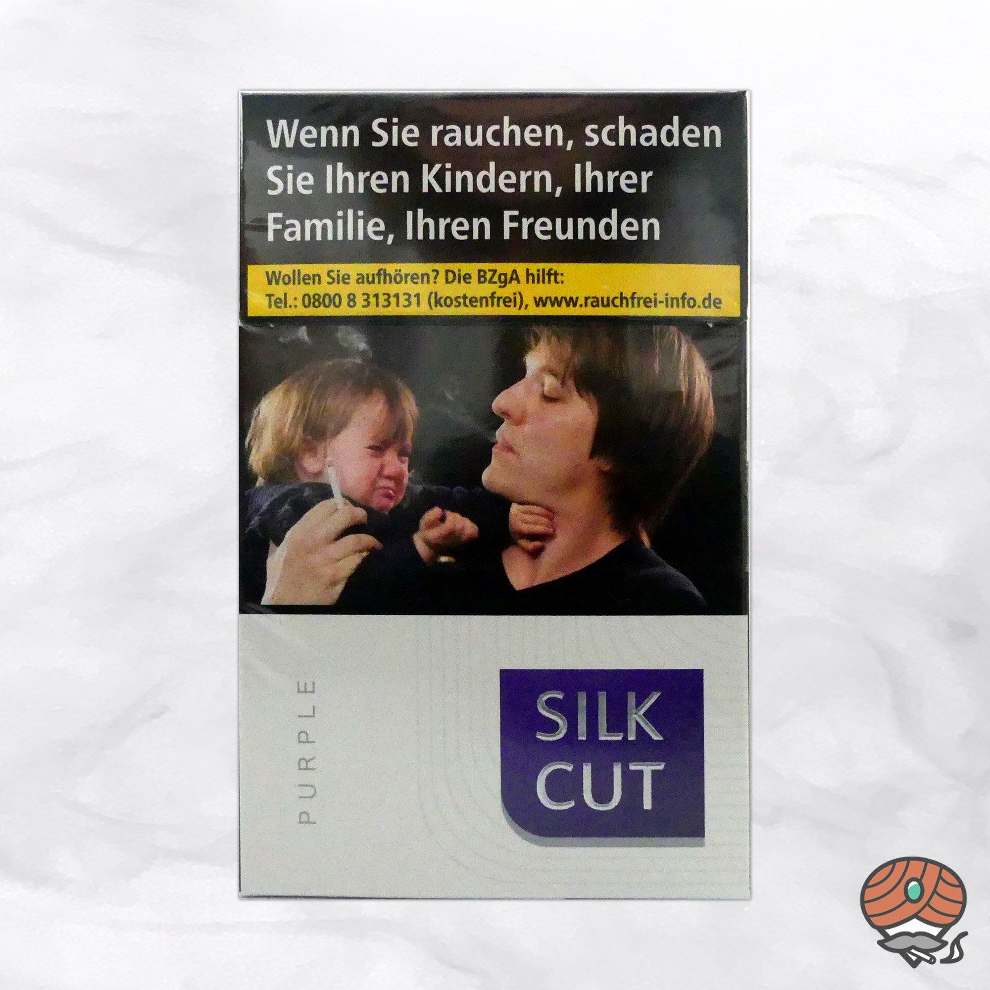Silk Cut Purple Filterzigaretten à 20 Stück