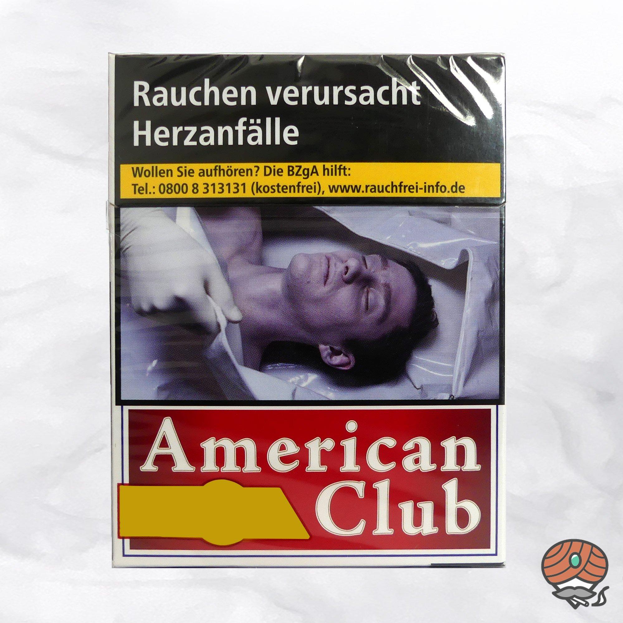 American Club Filterzigaretten BIG BOX à 25 Stück