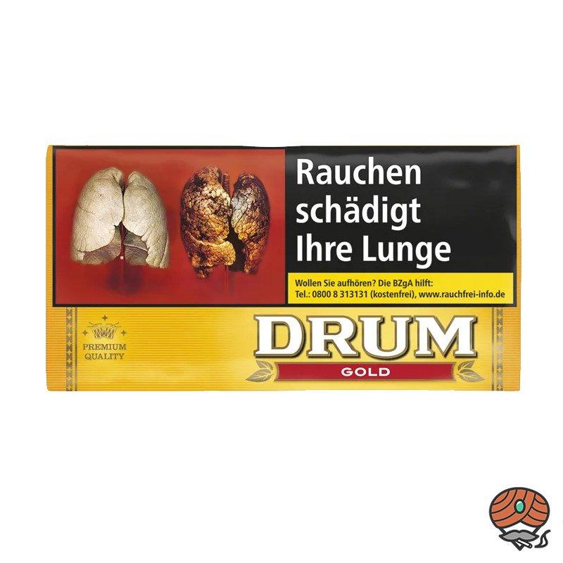 Drum Gold / Yellow Zigarettentabak / Drehtabak 30 g Pouches